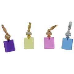 Lot of Perfume Bottle Pendants by Crivelli