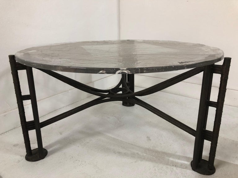 Glass Lothar Klute Coffee Table For Sale