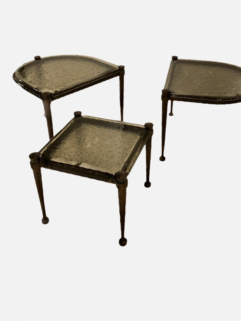 German Lothar Klute Coffee Table Set For Sale