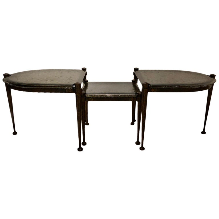 Lothar Klute Coffee Table Set For Sale