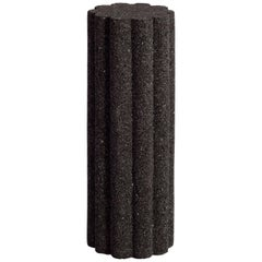 Loto Roca Side Tall Table, Volcanic Rock