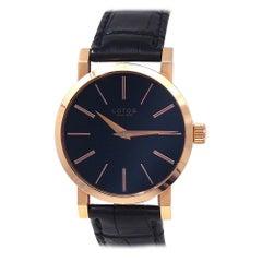 Lotos 8 18 Karat Rose Gold Manual Men's Watch
