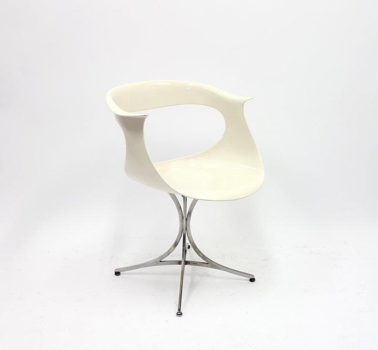 Space Age Lotus Chair by Erwine & Estelle Laverne for Laverne International, 1960s For Sale