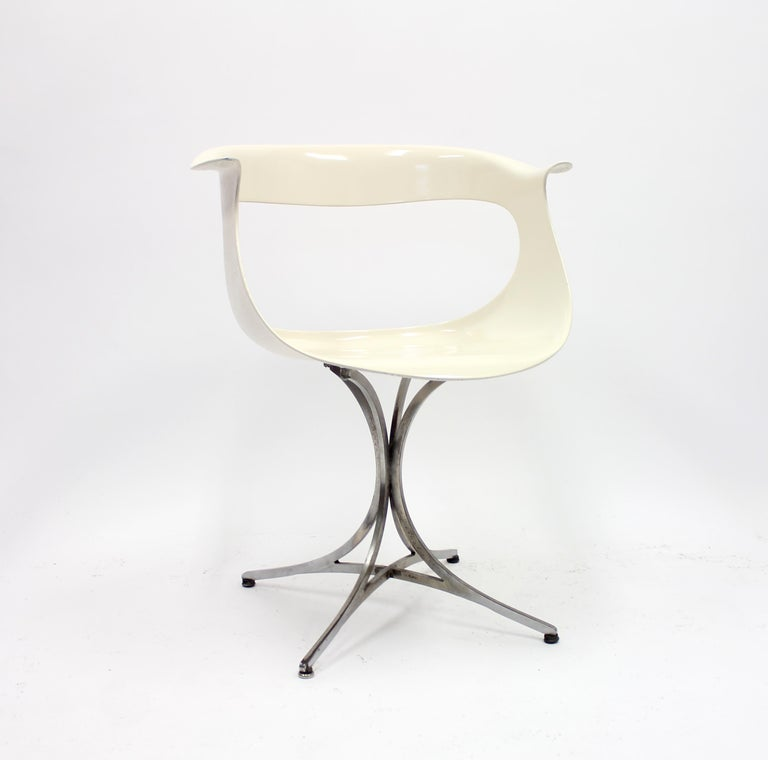 American Lotus Chair by Erwine & Estelle Laverne for Laverne International, 1960s For Sale