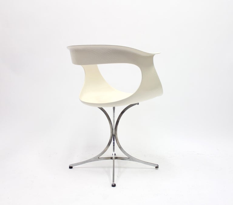 Lotus Chair by Erwine & Estelle Laverne for Laverne International, 1960s For Sale 1