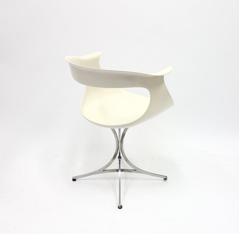 Lotus Chair by Erwine & Estelle Laverne for Laverne International, 1960s For Sale 2