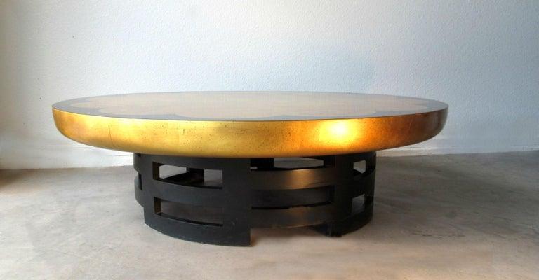 Mid-Century Modern Muller & Barringer Lotus Coffee Table for Kittinger USA  1950s For Sale