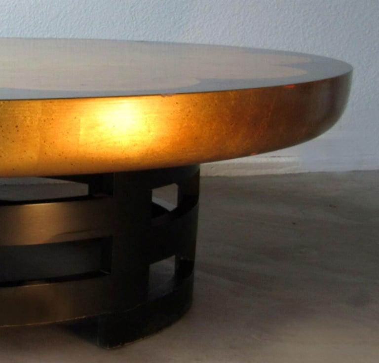 American Muller & Barringer Lotus Coffee Table for Kittinger USA  1950s For Sale