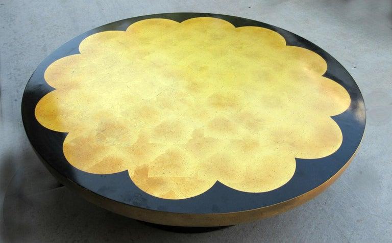 20th Century Muller & Barringer Lotus Coffee Table for Kittinger USA  1950s For Sale