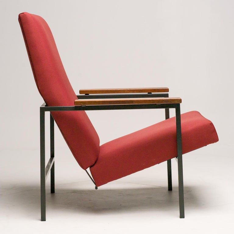 Mid-Century Modern Lotus Lounge Chair by Rob Parry for Gelderland For Sale