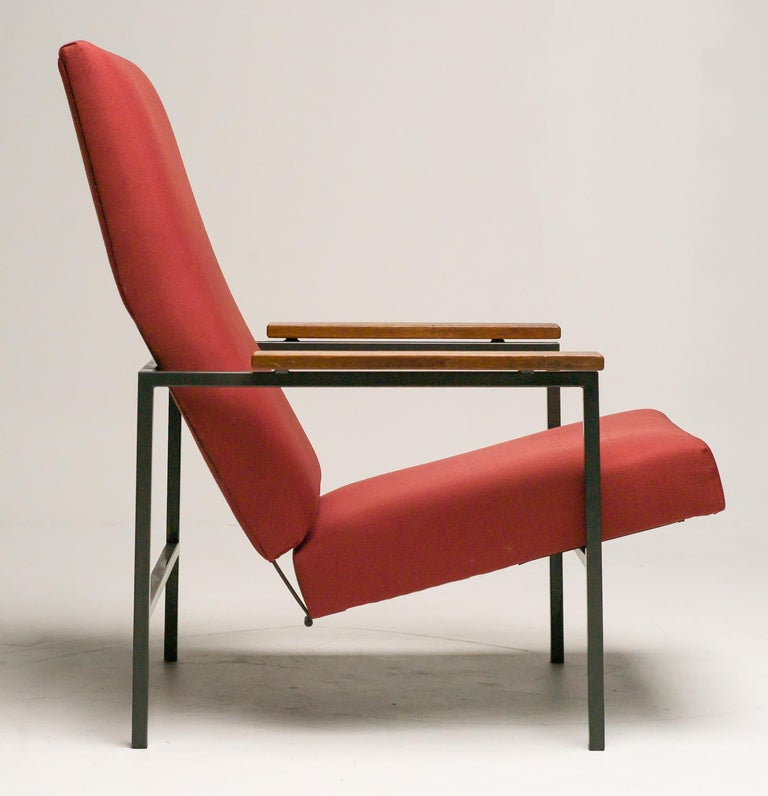 Dutch Lotus Lounge Chair by Rob Parry for Gelderland For Sale