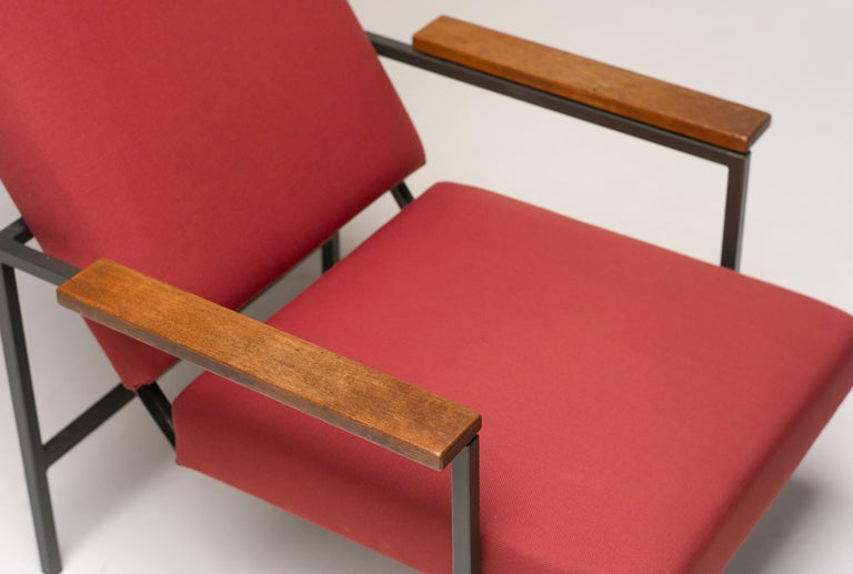 Lotus Lounge Chair by Rob Parry for Gelderland In Good Condition For Sale In Dronten, NL