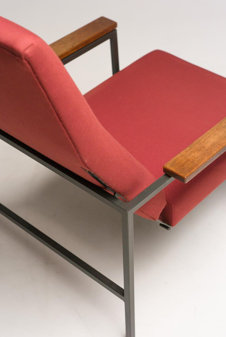 Steel Lotus Lounge Chair by Rob Parry for Gelderland For Sale
