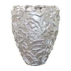 Lotus White Vase