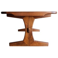 Lou Hodges Dining / Writing Table for California Design Group, circa 1975