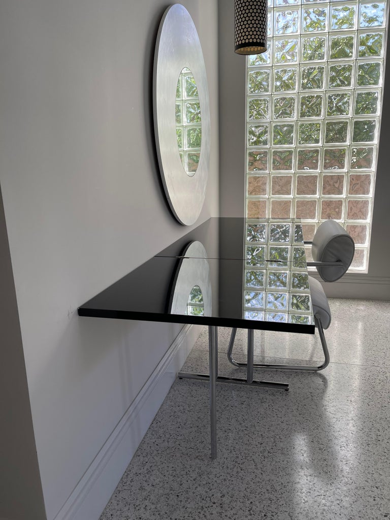 Lou Perou Table by Eileen Gray, Designed by ClassiCon For Sale 3