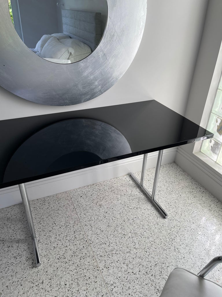 Lou Perou Table by Eileen Gray, Designed by ClassiCon For Sale 6