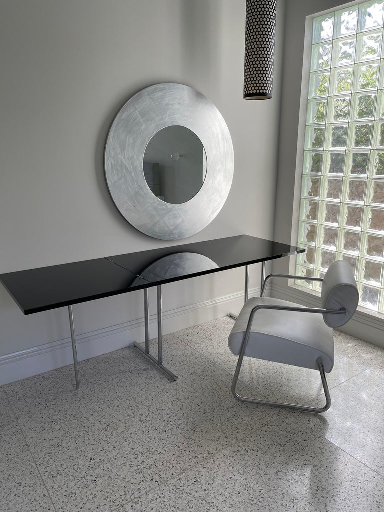 Lou Perou Table by Eileen Gray, Designed by ClassiCon For Sale 7