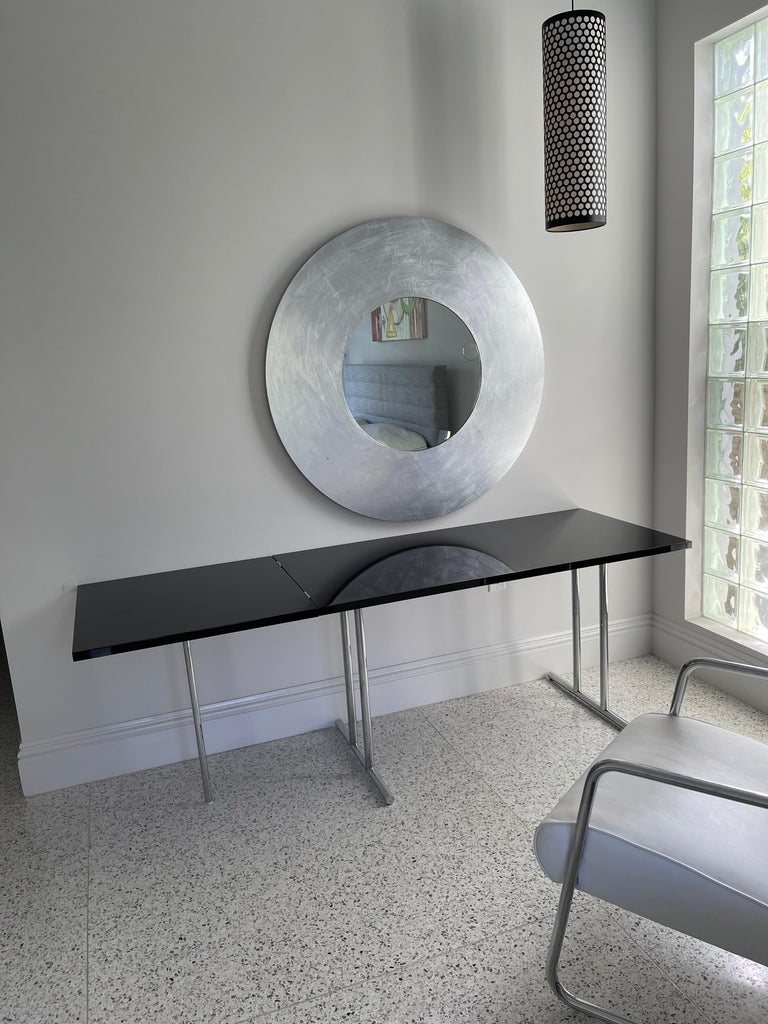 German Lou Perou Table by Eileen Gray, Designed by ClassiCon For Sale