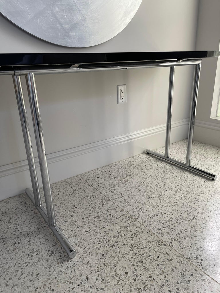 Lou Perou Table by Eileen Gray, Designed by ClassiCon In Good Condition For Sale In New York, NY