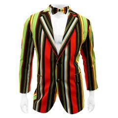 Loudmouth  Multi Color Striped Sport Coat Jacket