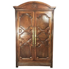 Louis 14 Armoire Paris in Walnut, End of the 17th-Early 18th Century