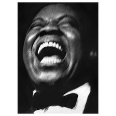 Louis Armstrong Basin Street East, NYC, 1954- Raymond Jacobs Archival Photograph