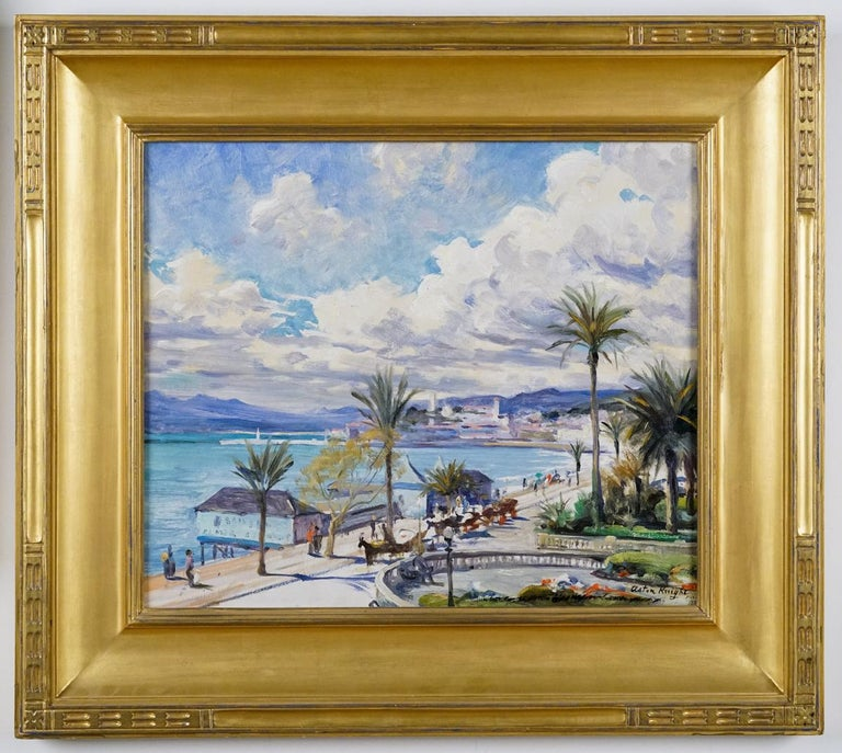 Louis Aston Knight Landscape Painting - Cannes