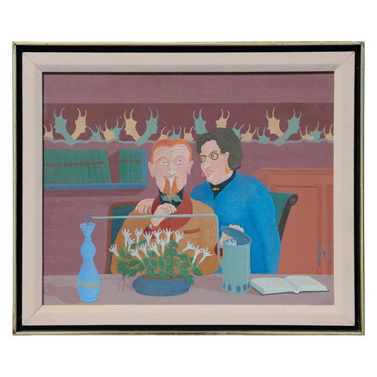 """Louis Auguste Dechelette 1964 """"Mixing Poison"""""""