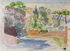 1940's Provence French Landscape - Post Impressionist artist