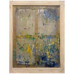 """Louis Cane """"Fenetre Sur Giverny"""", 1993"""