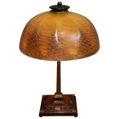 Louis Comfort Tiffany Desk Lamp