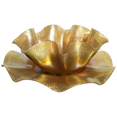 Louis Comfort Tiffany L.C.T. Favrile Bowl and Plate