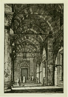Mosque of the Sultan Bayazid, Constantinople