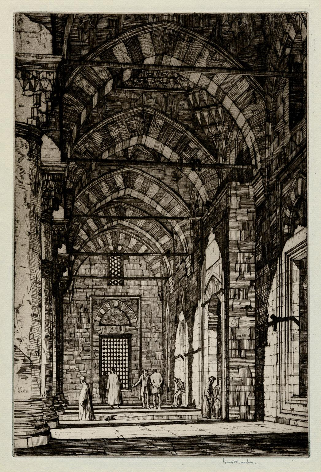 Mosque of the Sultan Bayazid, Constantinople