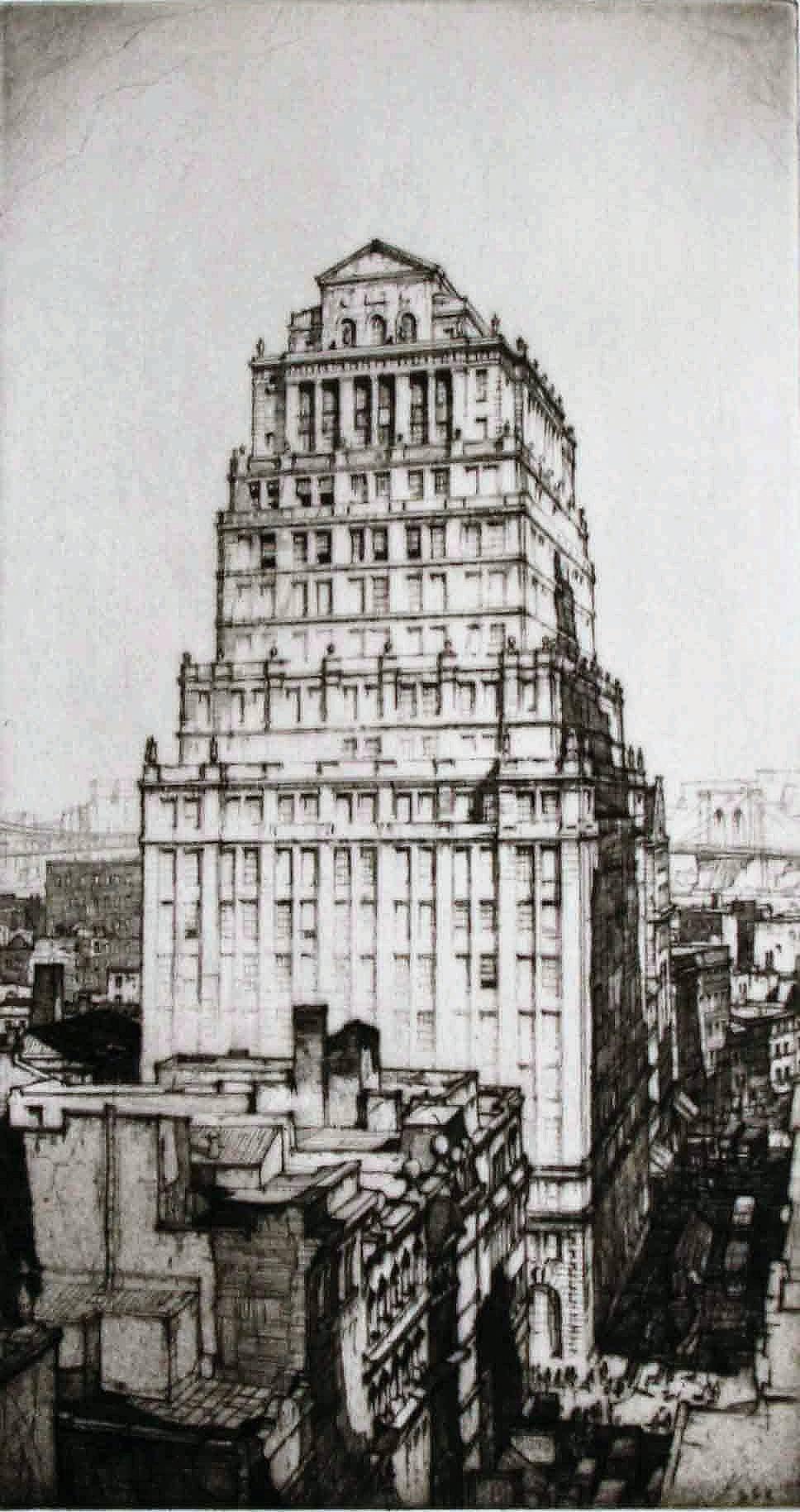 Royal Insurance Building of Canada. (Royal Globe Insurance Company Building)