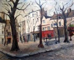 Paris, Place du Tertre, Montmartre: Utrillo student