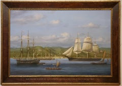 Louis Dodd Sovereign of the Seas large Marine Historical Painting