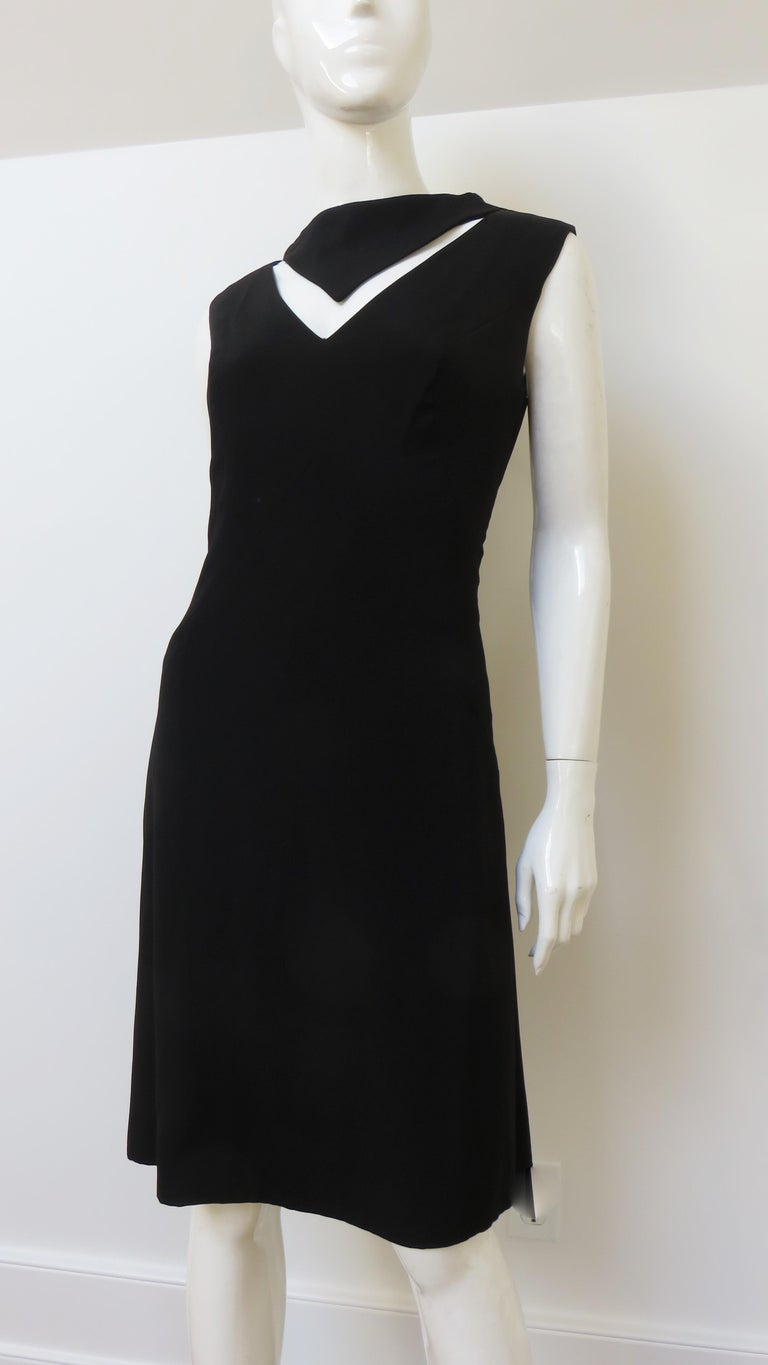 Louis Estevez 1960s Cut out Dress In Good Condition For Sale In Water Mill, NY