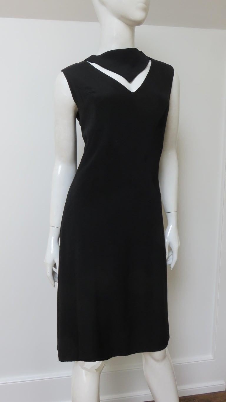 Louis Estevez 1960s Cut out Dress For Sale 3