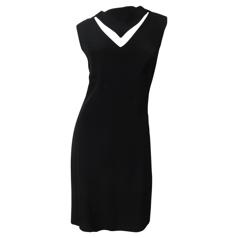 Louis Estevez 1960s Cut out Dress