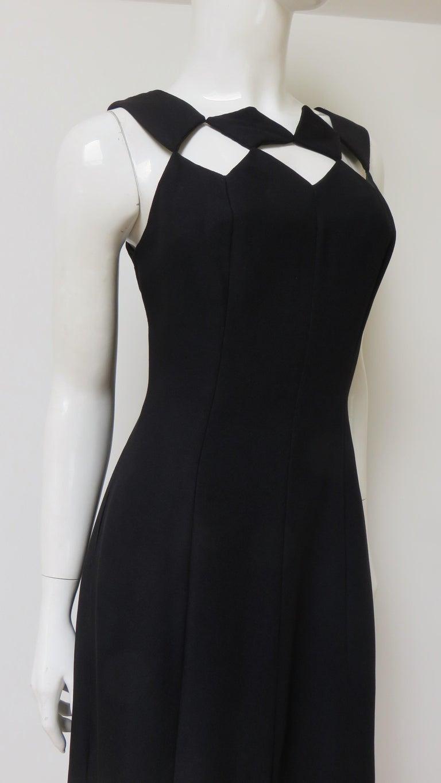 Louis Estevez 1960s Geometric Cut out Dress For Sale 5