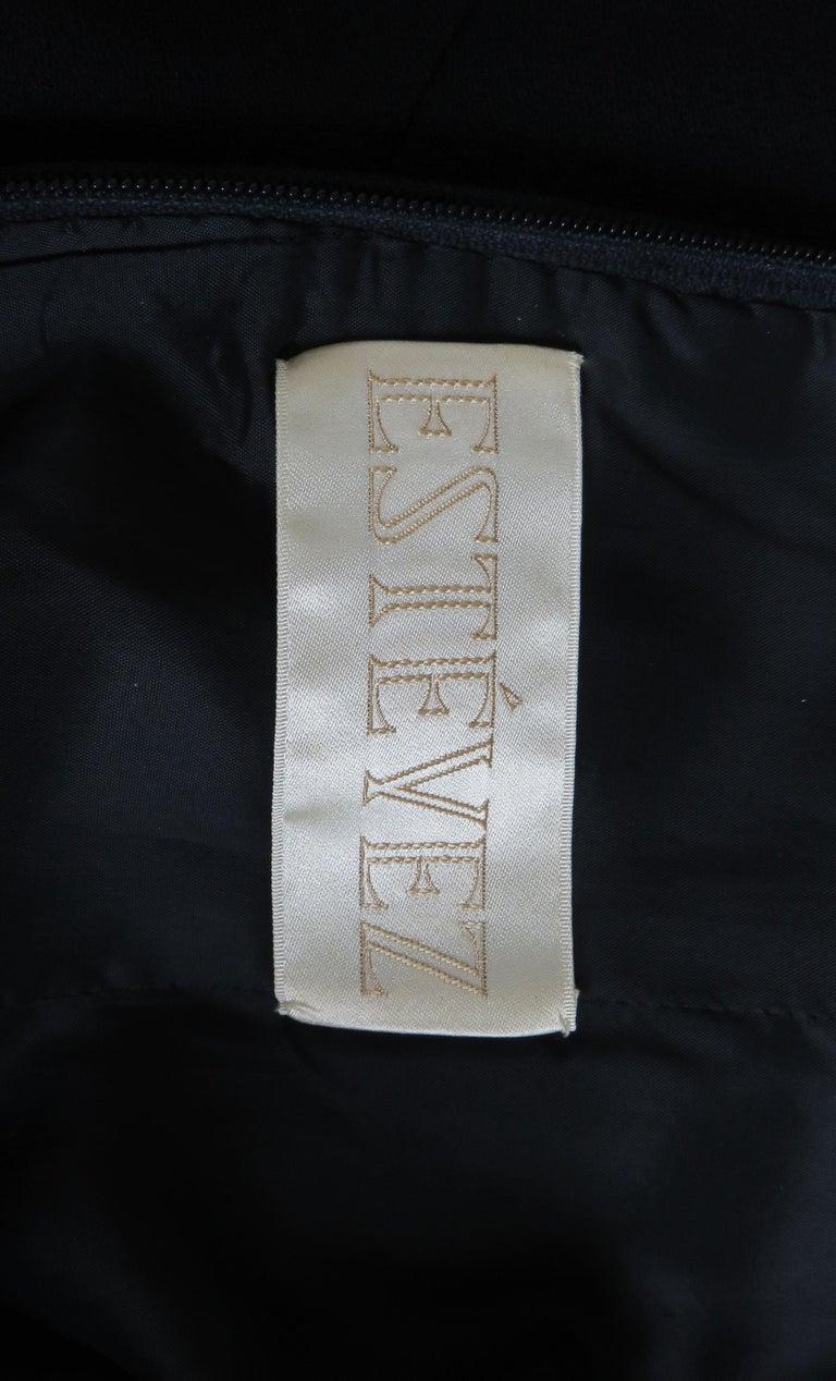 Louis Estevez 1960s Geometric Cut out Dress For Sale 11