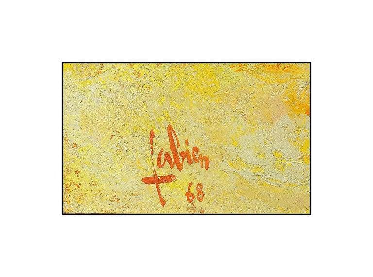 Louis Fabien Oil Painting On Canvas Original Nude Female Portrait Signed Artwork For Sale 1