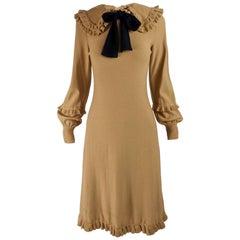 Louis Feraud 1970s Vintage Knit Dress