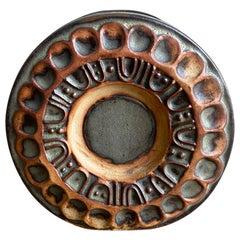 Louis Hudson Cornish Studio Pottery 'wheel vase', 1970s