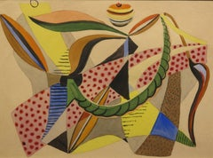 Untitled geometric abstract composition, c.1940