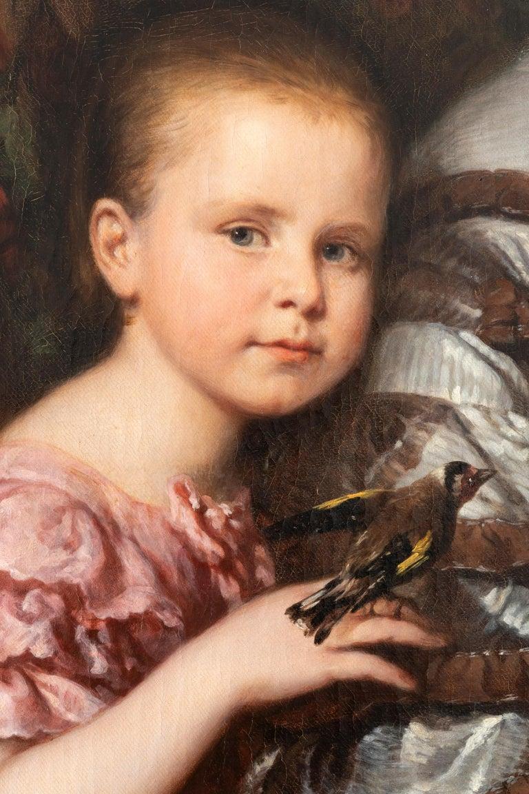 German Ludwig Krevel Family Portrait