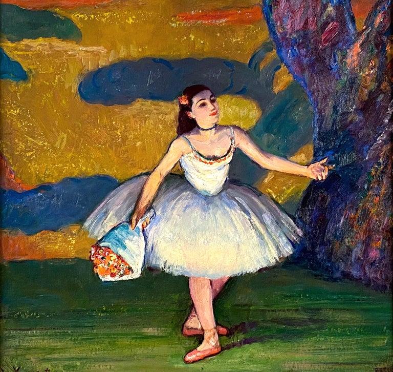 La Premiere Danseuse - Painting by Louis Kronberg