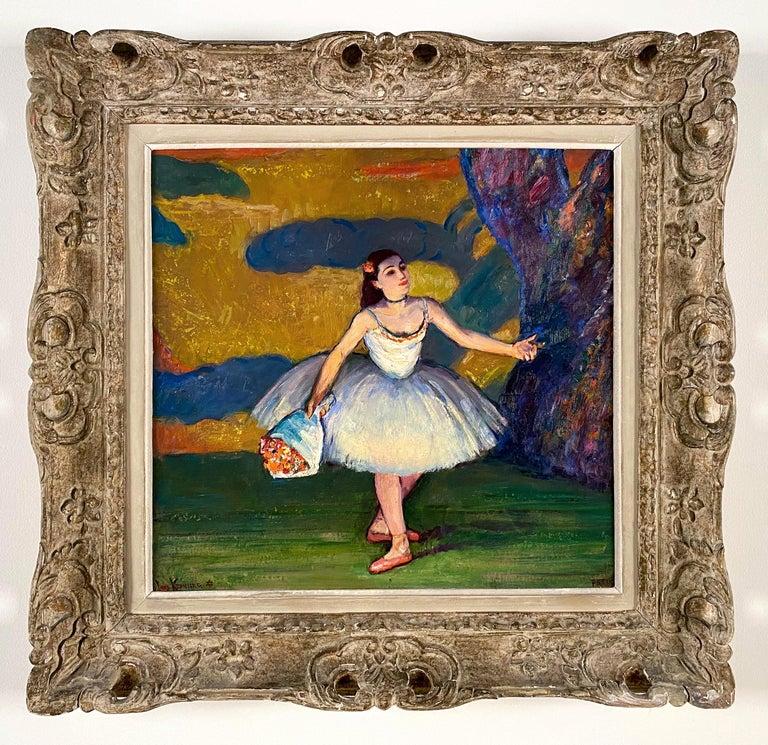 Louis Kronberg Portrait Painting - La Premiere Danseuse